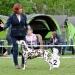 Crispy 'n' Crunchy vom Teutoburger Wald (3 Jahre) mit ihrem Frauchen Birgit Heise